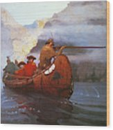 Last Of The Mohicans, 1919 Wood Print