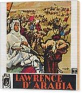 Lawrence Of Arabia, Aka Lawrence Wood Print