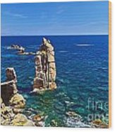 Le Colonne - San Pietro Island Wood Print