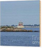 Ledge Lighthouse  Wood Print