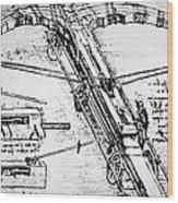Leonardo: Invention Wood Print