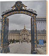 Les Invalides - Paris France - 01138 Wood Print