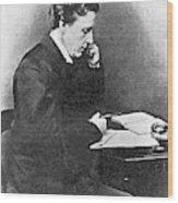 Lewis Carroll Alias Charles Lutwidge Wood Print