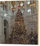 Library Of Congress - Washington Dc - 01138 Wood Print
