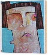 Life As Human Number Thirty Three Wood Print by Mark M  Mellon