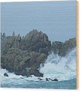Lighthouse On An Island, Creach Wood Print