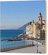 Liguria . Camogli Wood Print