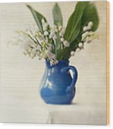 Lilly Of The Valley Wood Print by Jaroslaw Blaminsky