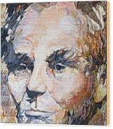 Lincoln Legacy  Wood Print