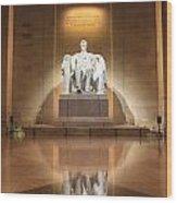Washington Dc - Lincoln Memorial Wood Print