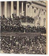 Lincoln's Inauguration, 1865 Wood Print