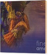 Lion King Dancers Wood Print