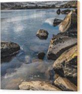 Llynnau Mymbyr Wood Print