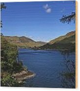 Loch Duich Scotland Wood Print