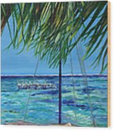 Lokal Flava Caye Caulker Belize Wood Print