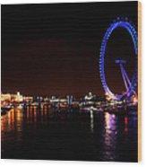 River Thames - London Wood Print