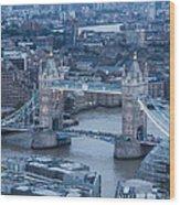 London Skyline Wood Print