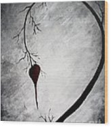 Lonely Heart Wood Print by Michael Grubb