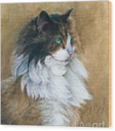 Longhaired Wood Print