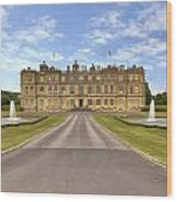 Longleat House  Wiltshire Wood Print