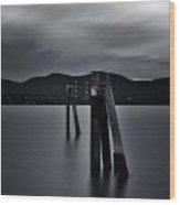 Looking Across The Hudson  Wood Print