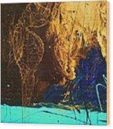 Lord Of Karma Wood Print by Chris Cloud