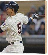 Los Angeles Dodgers V Minnesota Twins 1 Wood Print