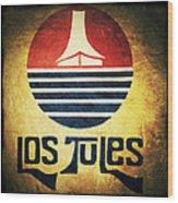 Los Tules Wood Print