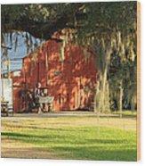 Louisiana Barn Wood Print