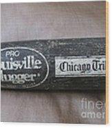 Louisville Slugger Wood Print