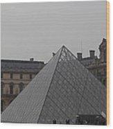 Louvre - Paris France - 01133 Wood Print