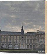 Louvre - Paris France - 01134 Wood Print by DC Photographer