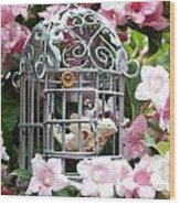 Love Bird Wood Print