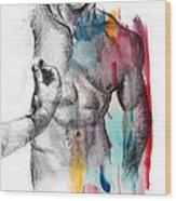 Love Colors 5 Wood Print