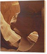 Lower Antelope Canyon, Arizona Wood Print