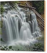 Lower Lewis Falls 2 Wood Print
