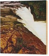 Lower Punchbowl Falls Wood Print
