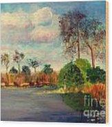 Loxahatchee Nature Preserve Wood Print