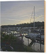 Lucy's Home Port Wood Print