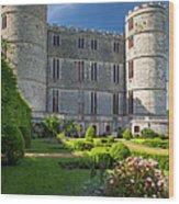 Lulworth Castle Wood Print