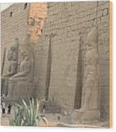 Luxor Temple Wood Print
