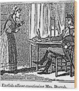 Lydia Darrah, 1777 Wood Print