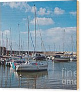 Lyme Regis Harbour 2 Wood Print