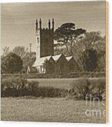 Mabe Church Wood Print