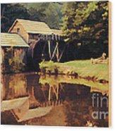 Mabrys Mill Wood Print