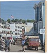 Mackinac Island Wood Print