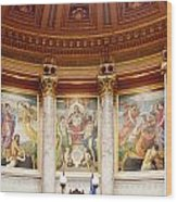 Murals In The Capitol - Madison Wood Print