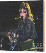 Madonna 1985 Wood Print
