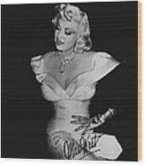 Mae West Wood Print