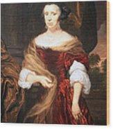 Mae's Portrait Of A Lady Wood Print
